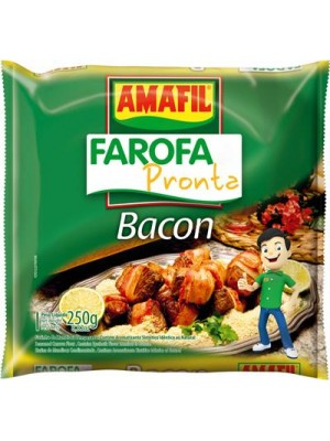 Farofa Pronta Bacon