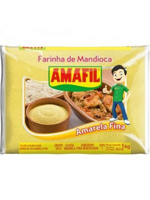 Farinha de Mandioca Amarela Fina
