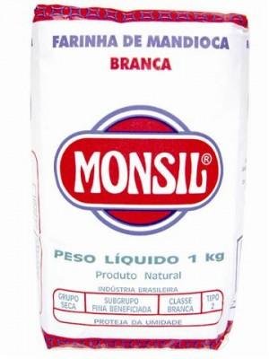 Farinha de Mandioca Branca Monsil
