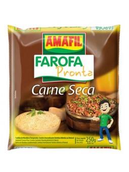 Farofa Pronta Sabor Carne Seca